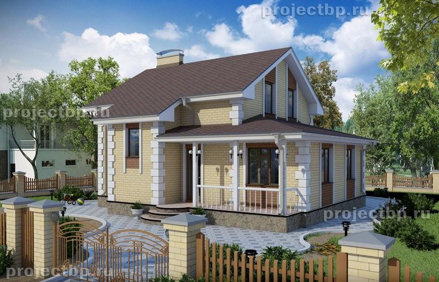 Проект дома с мансардой 11x10 112-B-Z
