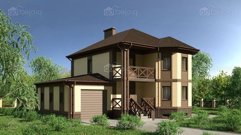 Проект дома с тренажерным залом и гаражом 232-C-Z