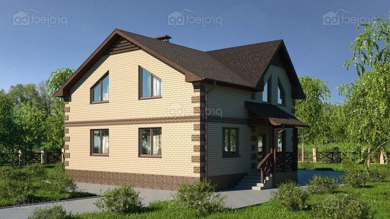 Проект дома со скатной крышей и четырьмя спальнями 149-C-Z